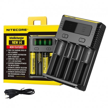CHARGEUR ACCUS NITECORE I4